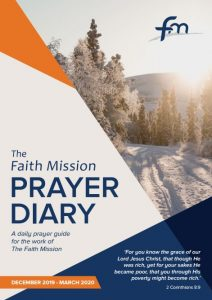 Prayer Diary Dec 19 - Mar 20